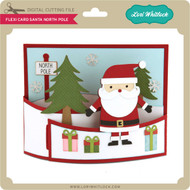 Flexi Card Santa North Pole