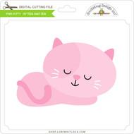 Pink Kitty Kitten Smitten