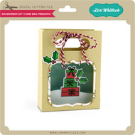 Shadowbox Gift Card Bag Presents