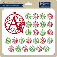 Ornament Monogram Set