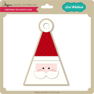 Christmas Tag Santa Claus