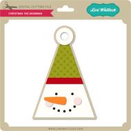 Christmas Tag Snowman