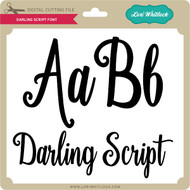Darling Script Font