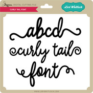 Curly Tail Font