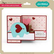Pop Up Box Card Elephant