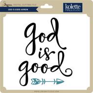 God is Good Arrow