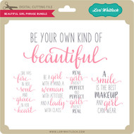 Beautiful Girl Phrase Bundle