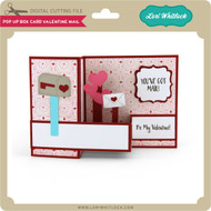 Pop Up Box Card Valentine Mail