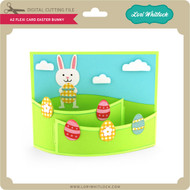 A2 Flexi Card Easter Bunny