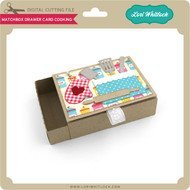 Matchbox Drawer Card Cooking