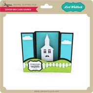 Center Box Card Church