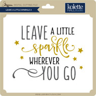 Leave a Little Sparkle 3
