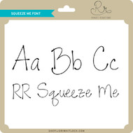 Squeeze Me Font