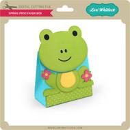 Spring Frog Favor Box