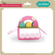 A2 Box Card Easter Egg Basket