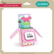A2 Box Card Flower Bee