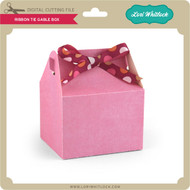 Ribbon Tie Gable Box
