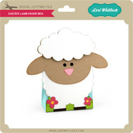 Easter Lamb Favor Box
