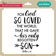 For God So Loved the World 2