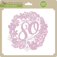 Floral 80 Wreath