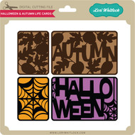 Halloween and Autumn Life Cards