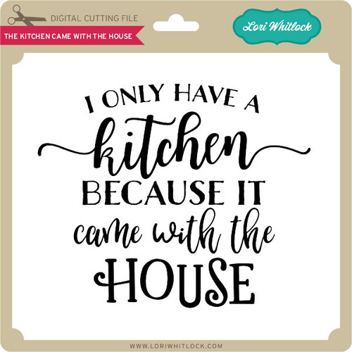 Kitchen Is The Heart Of The Home Svg