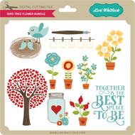 Bird Tree Flower Bundle