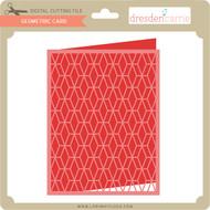 Geometric Card 1