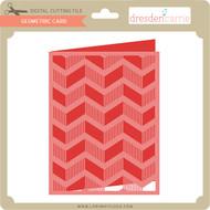 Geometric Card 6