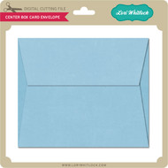 Center Box Card Envelope