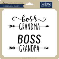 Boss Grandma Grandpa