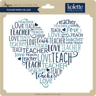 Teacher Word Collage
