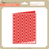 Geometric Card 8