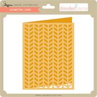 Geometric Card 11