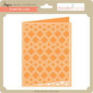 Geometric Card 12