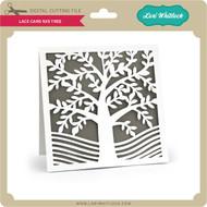 Lace Card 5x5 Tree