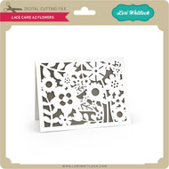 Lace Card A2 Flowers