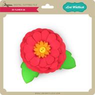 3D Flower 26