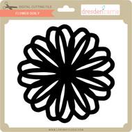 Flower Doily 10