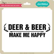 Deer and Beer Make Me Happy