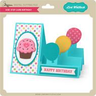 Side Step Card Birthday