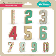 3-D Number Bundle