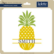 Pineapple Split Shape