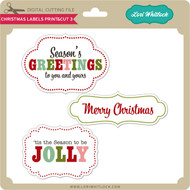 Christmas Labels Print&Cut 3