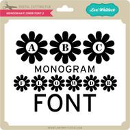 Monogram Flower Font 2