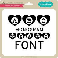 Monogram Heart Font