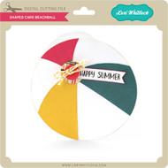 Shaped Card Beachball