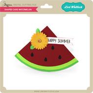 Shaped Card Watermelon