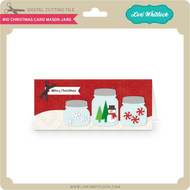 #10 Christmas Card Mason Jars