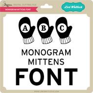 Monogram Mittens Font
